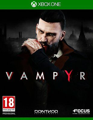 Vampyr (Xbox One)  BRAND NEW AND SEALED - IN STOCK - QUICK DISPATCH