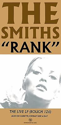 The Smiths  Rank Laminated Mini A4 Poster Print Morrisey