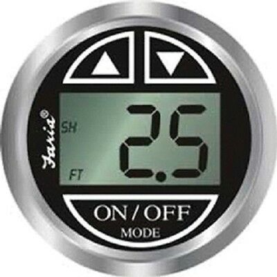 Faria Chesapeake Digital Depth Gauge Kit with Transom Mount Transducer - 13750