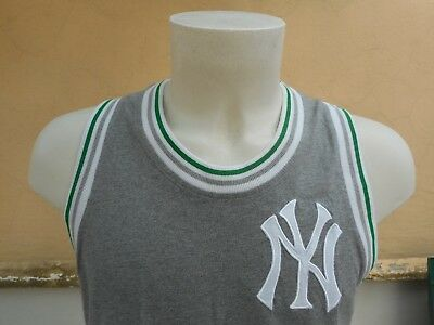Maglia Baseball Mbl New York Yankees Majestic Cooperstown Xl Shirt Jersey 0004