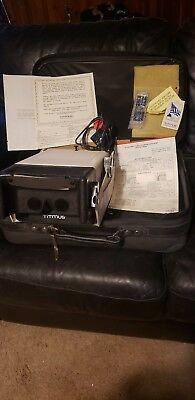 TITMUS II-S 2S Portable Vision Testing Instrument w/slides Power Supply Case