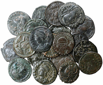 FORVM Lot of 20 Roman Empire City of Constantinople Commemoratives all VF