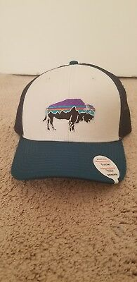 PATAGONIA FITZ ROY Bison Trucker Hat - New With Tags -  25.00  8d5a5c085a20