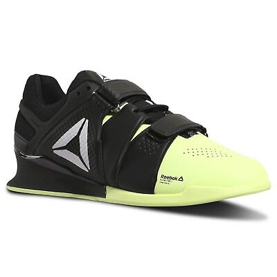 fc693d46feab Reebok Legacy Lifter Weight Training Men s Shoes - Electric Flash Black  White