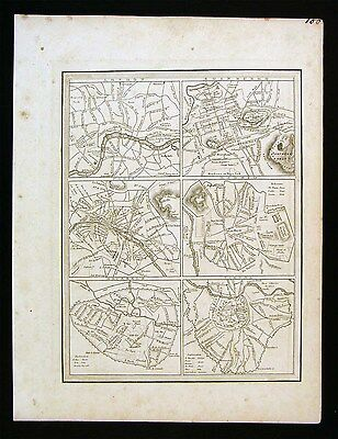 1835 Bradford Map - London Paris Madrid Viena Brussels