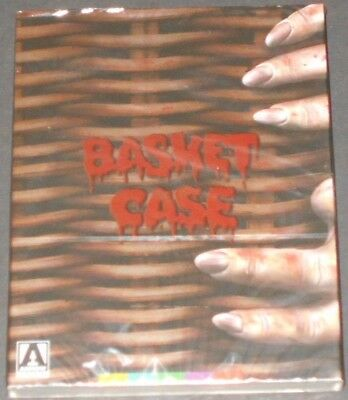 BASKET CASE usa blu-ray NEW SEALED limited special edition COLLECTOR'S BOOKLET