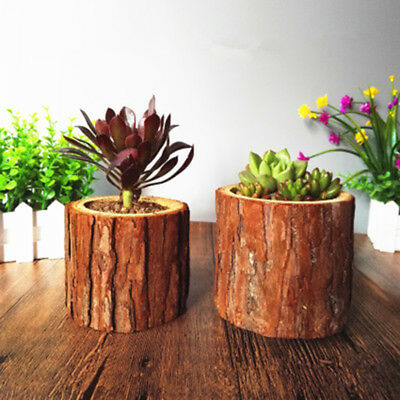 Wood Wooden Garden Planter Window Box Trough Pot Succulent Flower Plant Bed 2018