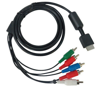 New HD Component AV Audio Video Cable Cord for Sony PlayStation 2 PS2 Consoles
