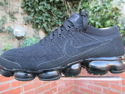 18addc6f8e Genuine Nike Air Vapormax Flyknit 2.0 Triple Black Noir Mens Trainers Uk 8