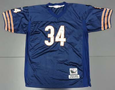uk availability bfc55 9fd66 WALTER PAYTON CHICAGO Bears NFL Throwback Football Jersey #34 Mitchell &  Ness 56