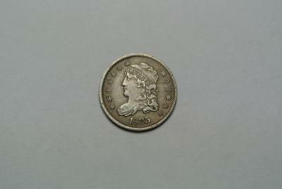 1835 Capped Liberty Bust Half Dime, VF Condition - C7398