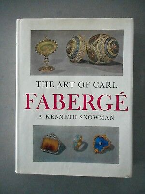 Book: The Art of Carl Faberge Kenneth Snowman