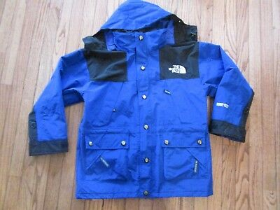 Vintage The North Face Men's Gore-Tex Blue Mountain Jacket Parka~Small