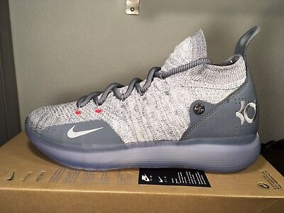 a734bb561baa NIKE AIR ZOOM KEVIN DURANT KD11 Cool Grey AO2604-002 Size 9 AUTHENTIC NIB