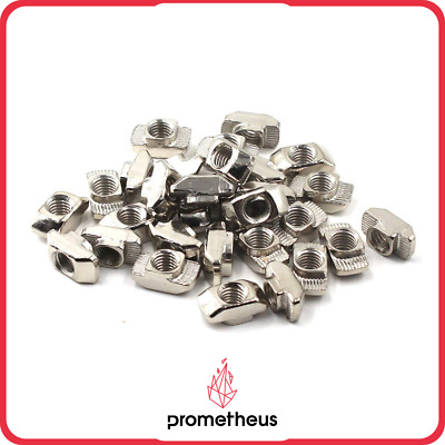 UK STOCK 🇬🇧 100pcs M5 Hammer nuts 2020 extrusion 3D printer upgrade
