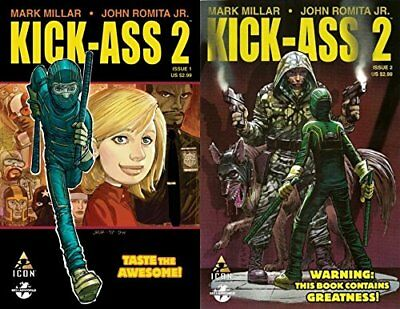 Kick-Ass 2 #1-2 (2010-2012) Icon Comics - 2 Comics