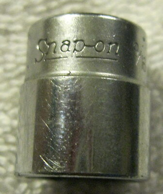 """Vintage Snap on socket 9/16"""" ,1/4 inch drive,6 point TM18,tool,USA"""