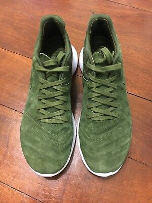 uk availability 80f0b bccf8 Nike Roshe Tiempo VI Legion Green Leather Mens Shoes 852615 300 - Size 7