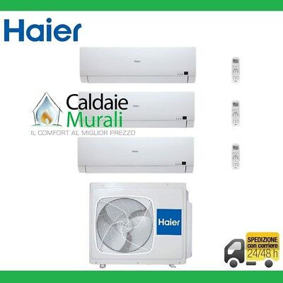 Conditionneur D'Air Trial Split Onduleur Haier Brise Bs4 A++ 9+9+12 avec