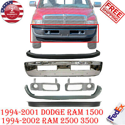 OE Replacement Dodge Pickup Front Bumper Cover Partslink Number CH1000873