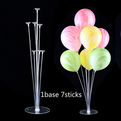 21x Foil Balloon Accessory Base Table Support Column Holder Cup Stick Stand UK