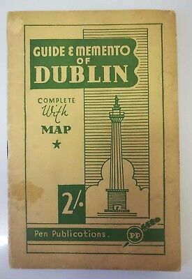 Guide & Memento of Dublin - guidebook from the 1940's or 50's
