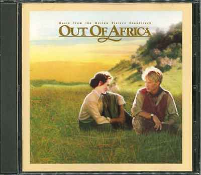 OUT OF AFRICA (Jenseits von Afrika) Soundtrack CD