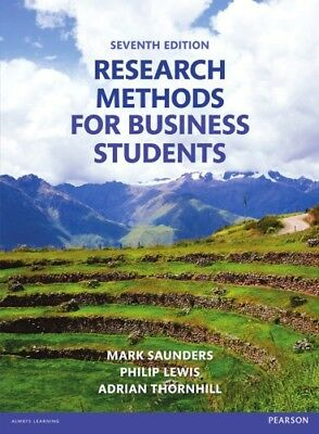 Research Methods for Business Students 7th Edition - Instant Delivery ( PDF )