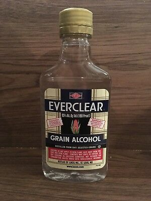 2 X 200ml Everclear 95% Pure Grain Alcohol Food Grade Tinctures RSO FECO