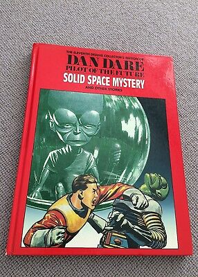 Dan Dare SOLID SPACE MYSTERY & OTHER STORIES hardback Hawk Books Deluxe ed 1995