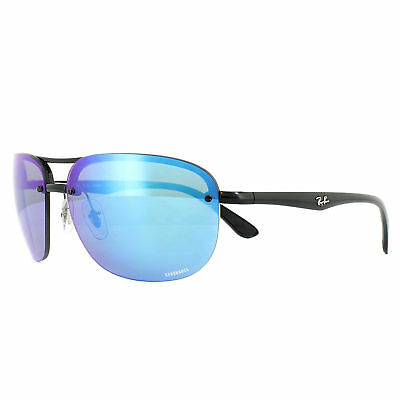 cae0e74fbec3 Ray-Ban Sunglasses RB4275CH 601 A1 Black Blue Mirror Polarized Chromance
