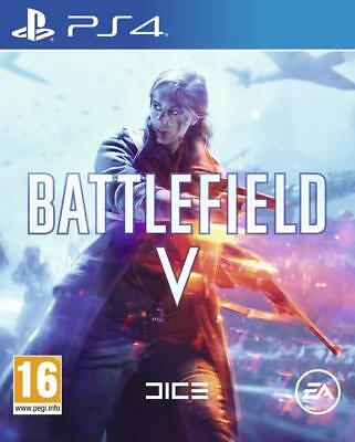 Ps4 Battlefield V 5 Bf5 Shooter IV Gioco per Sony Playstation 4 Consegna Flash