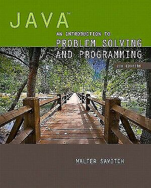 [PDF] Java An Introduction to Problem Solving and Programming 7th Edition by Wal