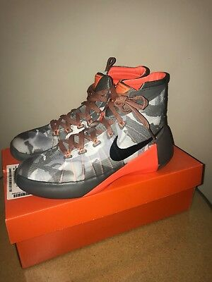best loved 03346 19124 NIKE HYPERDUNK 2015 PRM GS Basketball Shoes Sneakers 749567 001 Camo SIZE  6.5