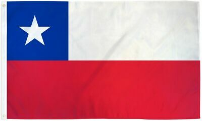 3x5 Chile Flag Chilean Country Banner South American Pennant Bandera Outdoor New