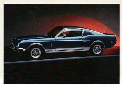 Mustang Shelby 1968, Ford, Dream Cars Trading Card, Automobile - Not Postcard