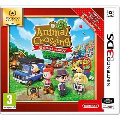 Animal Crossing: New Leaf - Welcome Amiibo (selects) /3ds