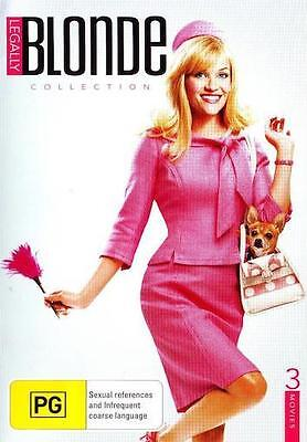 LEGALLY BLONDE TRILOGY Collection 1 2 3 : NEW DVD