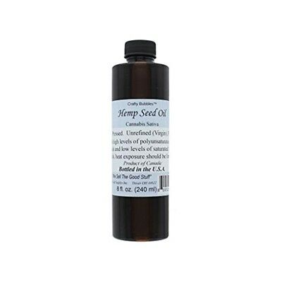 Hemp Seed Oil 8oz-
