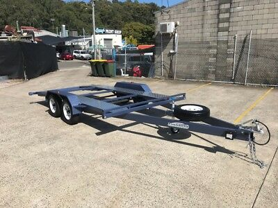 Heavy duty - 100% AUSSIE MADE 2T Tandem Car Trailer, From $51 p/w 98% approval