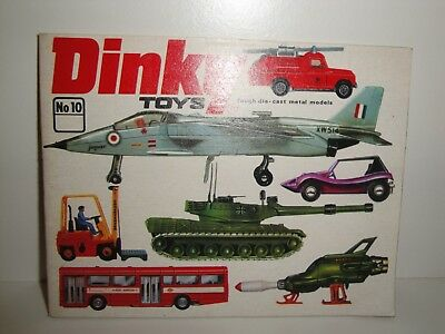 1974 Dinky Toys Catalogue-Belgium Edition