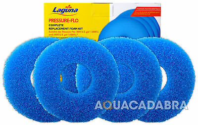 Laguna Pressure Flo 5000 6000 Filter Foam Kit Set PT1736 Fish Pond PF5000 PF6000