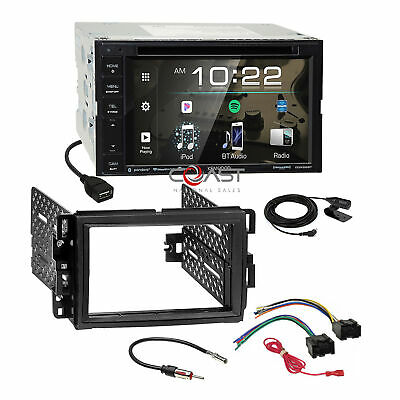 Kenwood 2018 DVD Spotify Stereo Dash Kit Harness for GM Buick Chevrolet Pontiac
