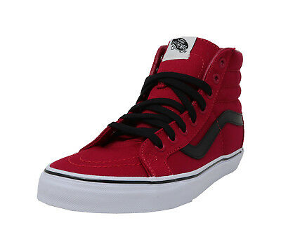 05200b288e064c VANS SK8-Hi Reissue Chilli Pepper Red Black Lace Up Sneakers Fashion Men  Shoes