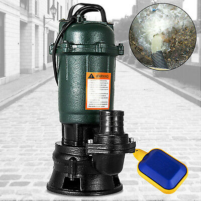500W Submersible Sewage Dirty Waste Water Pump 10m3/h Professional Sewer pump