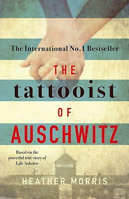 The Tattooist of Auschwitz Paperback new book