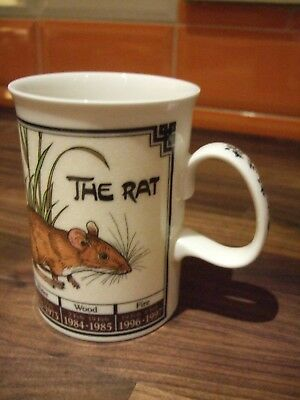 Rare New Dunoon Mug - Ming Shu - The Rat
