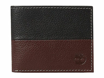 Timberland Mens Two Tone Leather Core Sportz Slimfold Slim Bifold Wallet