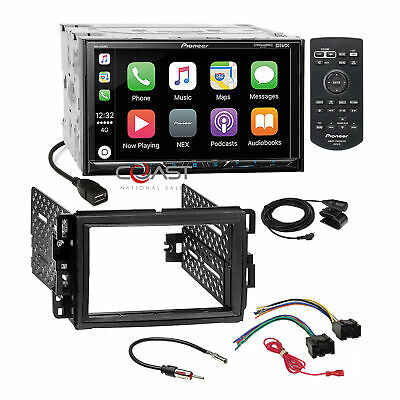 Pioneer Carplay GPS Link Stereo Dash Kit Harness for GM Buick Chevrolet Pontiac
