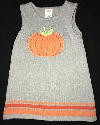13c6050ae6d Nwt Gymboree Spooky   Sparkly Pumpkin Sweater Dress Girls Halloween Size 4  Kids  Clothing